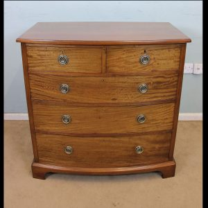 Antique Mahogany Chest Drawers,